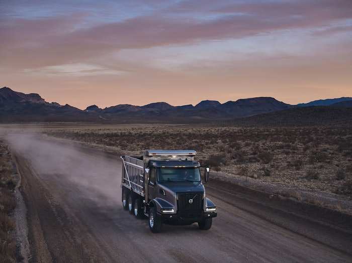 The newly redesigned Volvo VHD