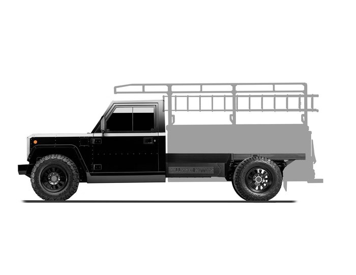 Bollinger Motors B2 Chassis Cab Contractor Truck side