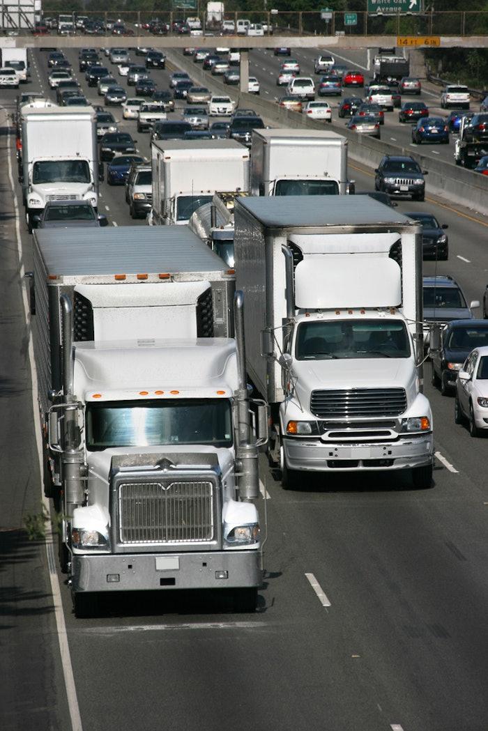 California-highway-trucks