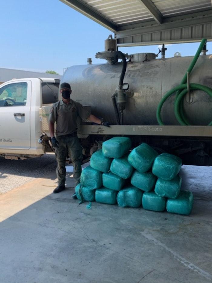 drug-bust-pot-sewage-truck