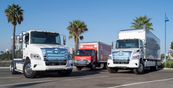 Hino-electric-trucks