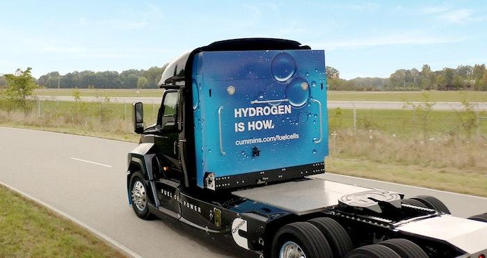 Cummins Hydrogen Fuel Cell Truck