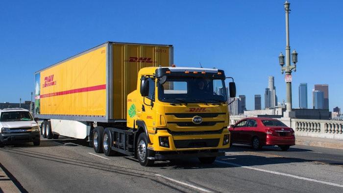 DHL-BYD-electric-truck