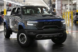 The first – VIN #0001 – Ram 1500 TRX Launch Edition, adorned in