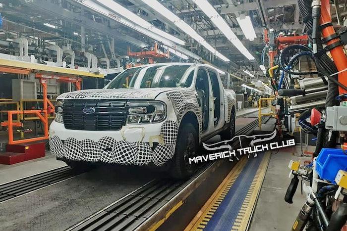 Ford Maverick Truck factory leak – Mavericktruckclub.com