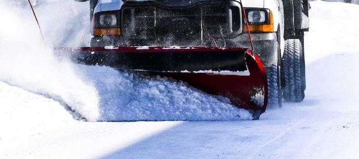 Interstate Plastics Snow Plow