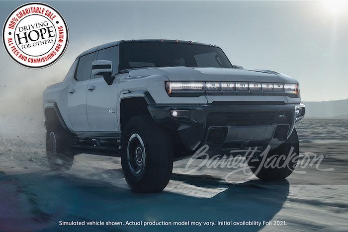 2022 Gmc Hummer Pickup