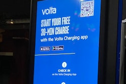 Start your free 30-min charge with the Volta Charging app sign