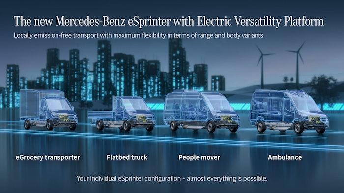 Mercedes Benz E Sprinter