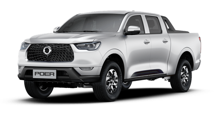 The Poer crew cab from Great Wall Motors is the automaker's first luxury pickup