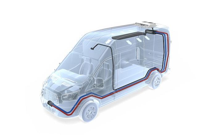 3 London Extreme Climate Install Transit Van Hvac