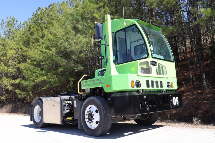 Autocar's all-electric E-ACTT terminal tractor rolls out later this year.