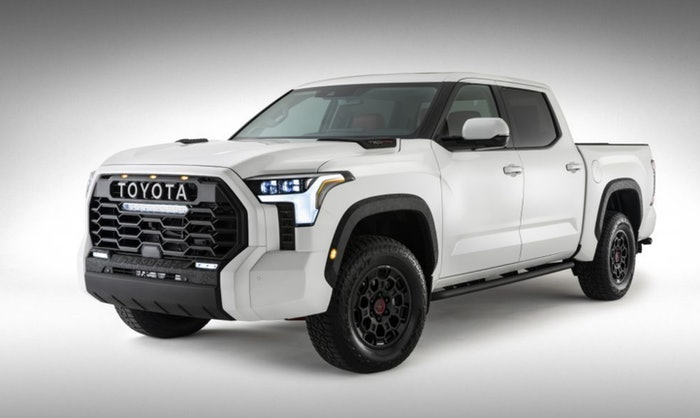If looks could grill...enthusiasts are divided on the big new grille on the 2022 Toyota Tundra TRD Pro.