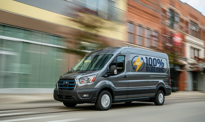 2022 Ford E-Transit is set to roll out later this year.