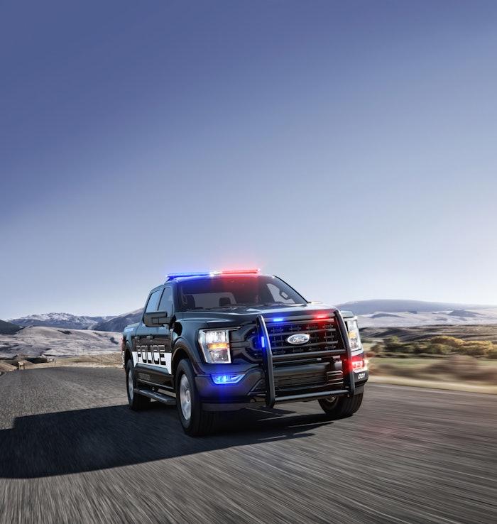 2021 F 150 Police Responder 2