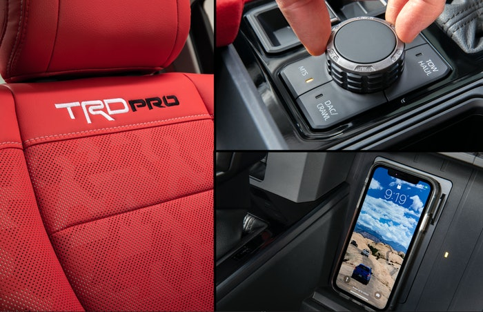 2022 Toyota Tundra Interior Adobe Version