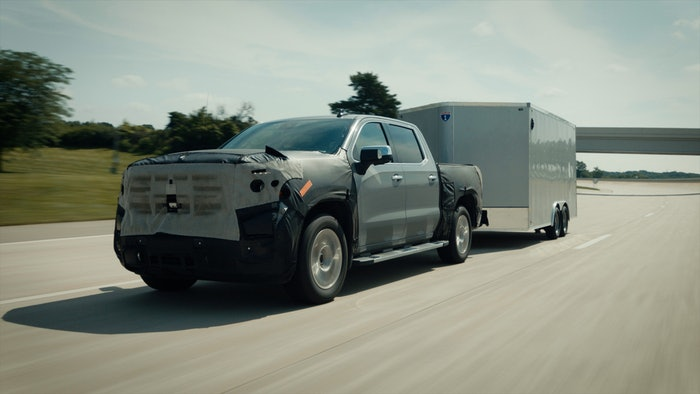 Hands-free towing available on the 2022 GMC Sierra Denali