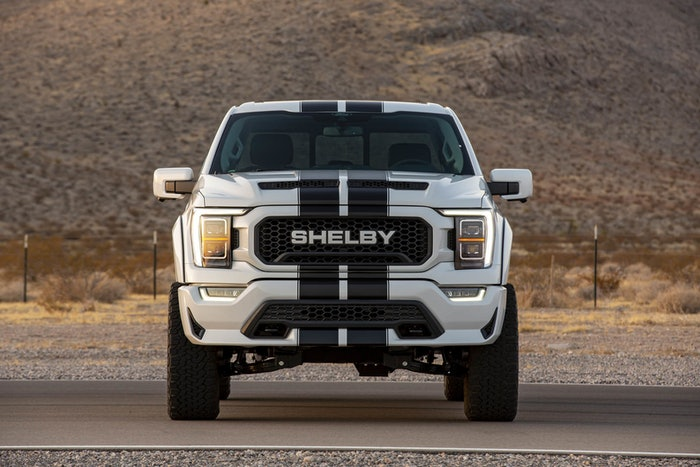 2021 Shelby F-150 cranks up power to 775 horses leaving the Ram TRX behind.
