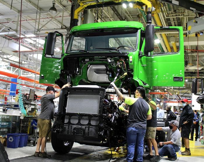 Volvo VNR assembly