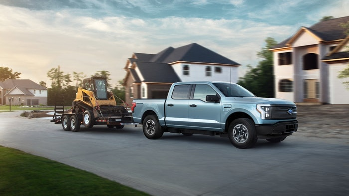 Growing commercial interest played a significant role in Ford's decision to double production of its all-electric 2022 F-150 Lightning.