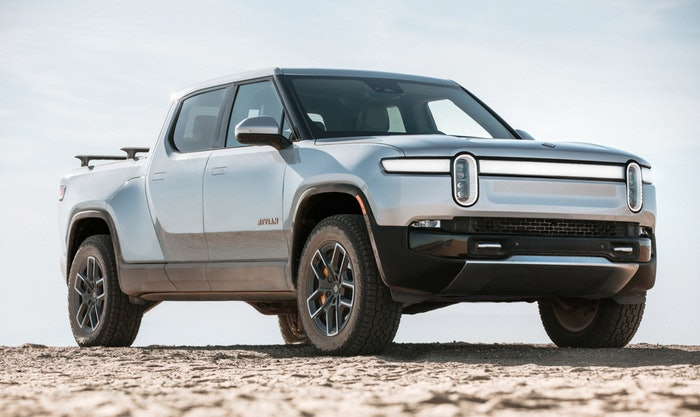 Yes, the Rivian R1T is super fast with an advertised zero to 60 time of three seconds, and it's also super heavy which will cost you a lot more at the DMV.