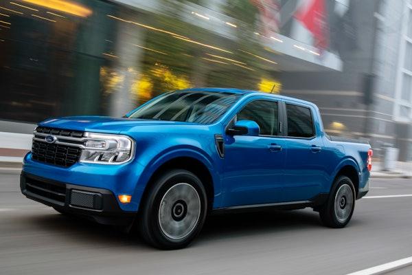 2022 Ford Maverick hybrid pickup 42 mpg city