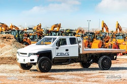 Zeus all-electric chassis has teamed up with JB Poindexter's new company EAVX to develop and market all-electric work trucks.