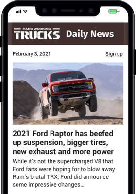 Newsletter Just for Truck Owners